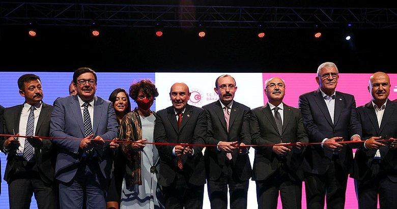 İzmir Enternasyonal Fuarı törenle açıldı