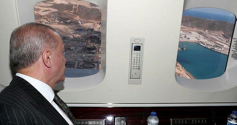 Başkan Erdoğan Akkuyu Nükleer Güç Santrali'nde incelemelerde bulundu