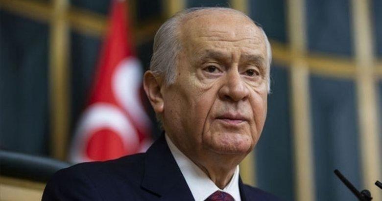 MHP Genel Başkanı Devlet Bahçeli'den 'erken seçim' açıklaması