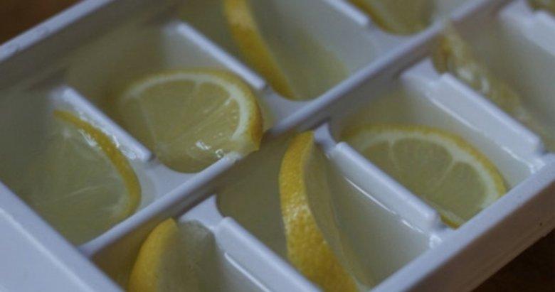 Eğer limonu buzluğa koyarsanız...