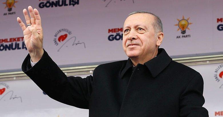 Başkan Erdoğan, AK Parti'nin rekor oyla kazandığı ilçeye gidiyor