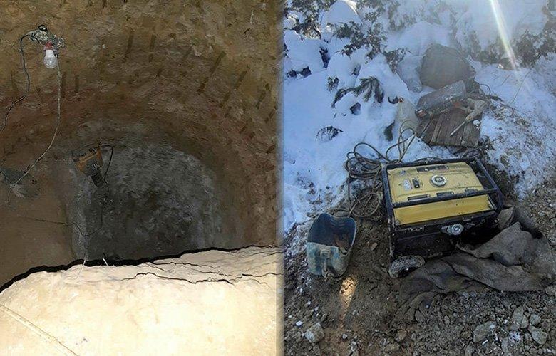 Kütahya'da altın dolu lahit söylentisi metrelerce kazdırdı