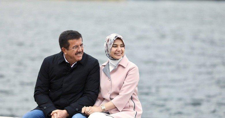 AK Parti'nin İzmir adayı Nihat Zeybekci ve eşi ile sevgililer günü röportajı