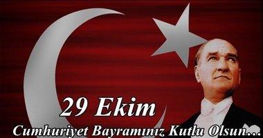 En güzel 29 Ekim Cumhuriyet Bayramı resimli mesajları!