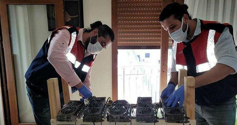 İzmir'de kripto para üretim makinesi operasyonu! Piyasa değeri 512 bin lira