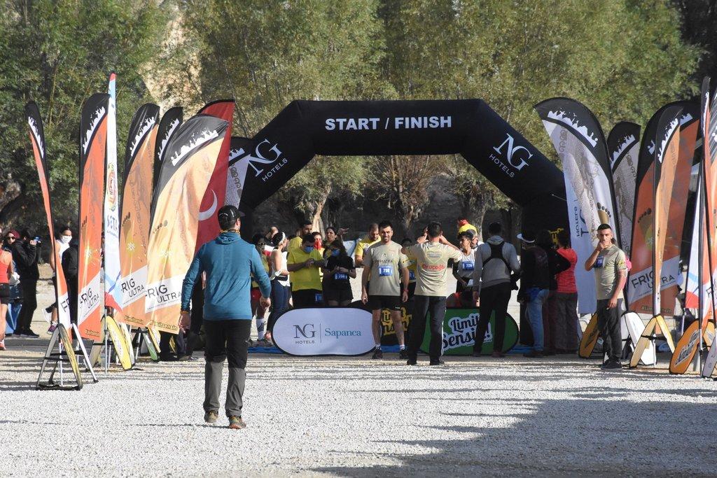 Afyonkarahisar'da 7. Frig Ultra Maratonu başladı