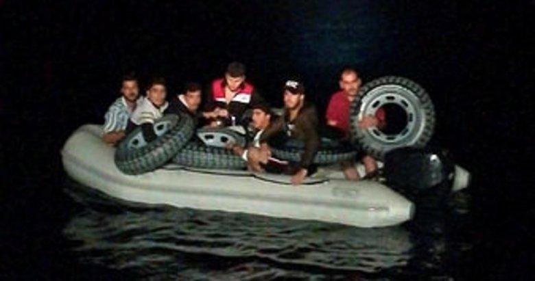 Muğla'da 52 düzensiz göçmen yakalandı
