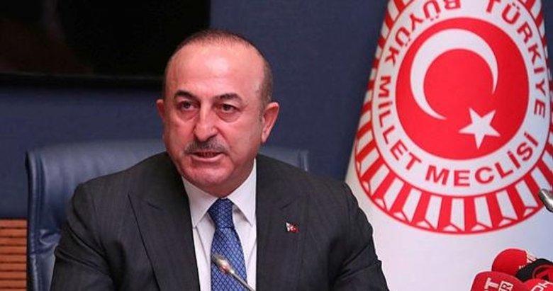 Dışişleri Bakanı Çavuşoğlu'ndan Trump'ın skandal sözlerine yanıt