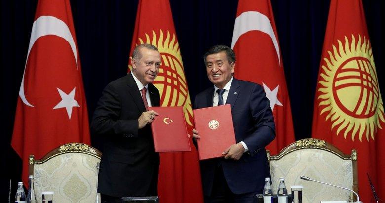 Başkan Erdoğandan Kırgızistana FETÖ çağrısı