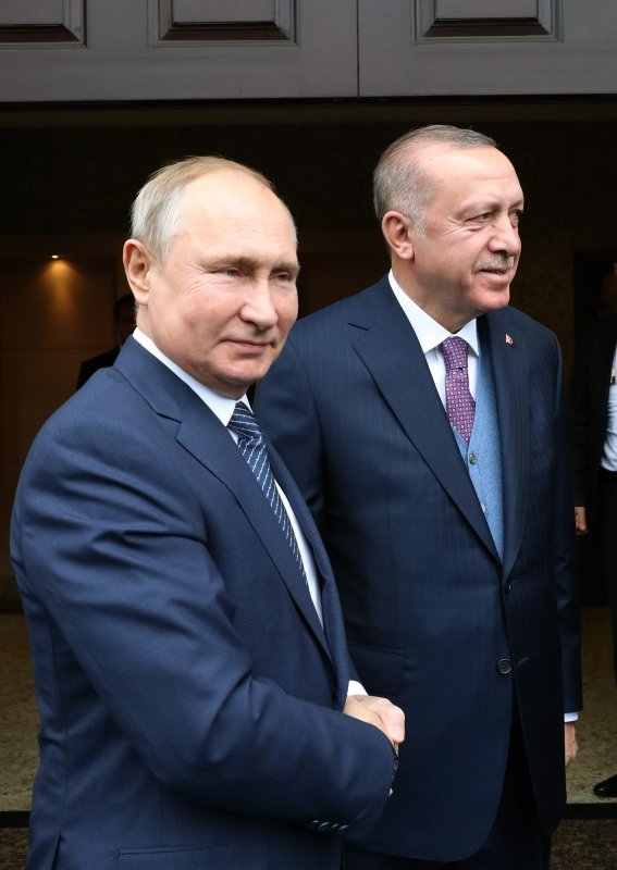 Başkan Erdoğan-Putin zirvesinden ilk kareler geldi