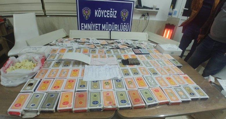 Sosyal mesafe kuralını ihlal ederek kumar oynayan 27 kişiye 119 bin 610 lira ceza