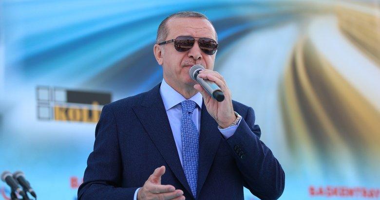 Cumhurbaşkanı Erdoğandan, Putin ve Trumpa mesaj