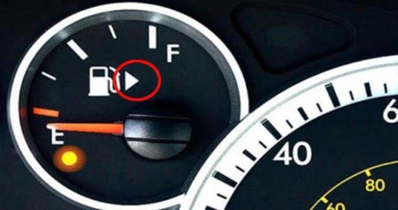 Bu bilgiye dikkat! Benzin göstergesinin hemen yanında! Bakın ne işe yarıyormuş