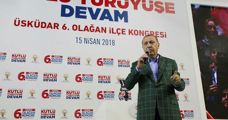 Cumhurbaşkanı Erdoğan: Kalktılar bu ara bize savaş ilan ettiler