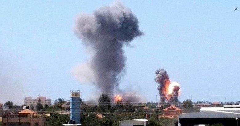 Son dakika:İsrail'den Gazze'ye saldırı