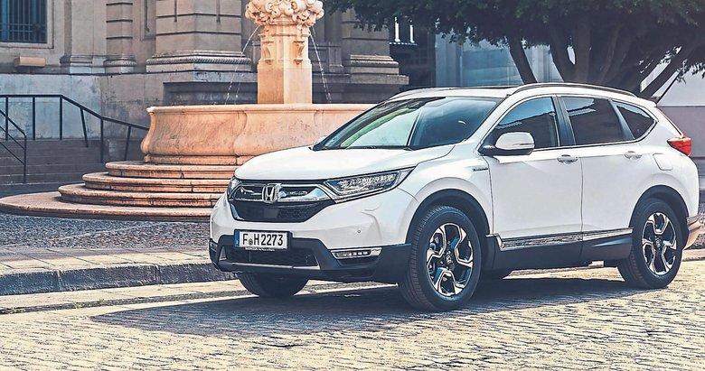 Honda CR-V Hybrid ile döndü
