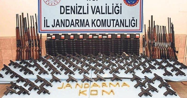 Bozkurt'ta silah operasyonu