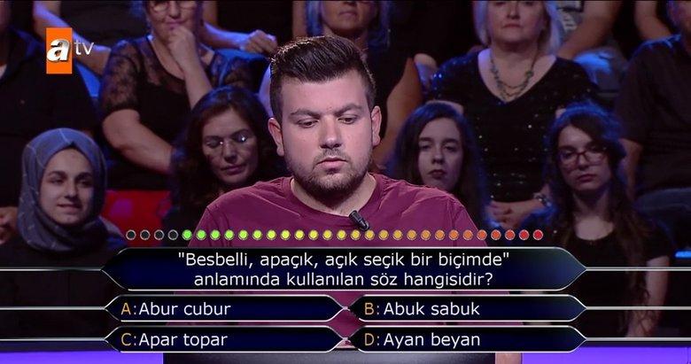 Kim Milyoner Olmak İster? 771. Bölüm soru ve cevapları