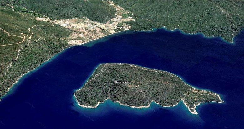 Gökova Körfezi'ndeki satılık adanın fiyatı 50 milyon lira arttı