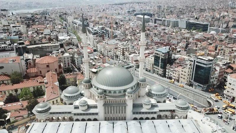 İstanbul için tarihi gün! İşte Taksim Camii'nin dikkat çeken özellikleri