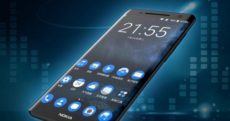 Kavisli Nokia 9 karşınızda!