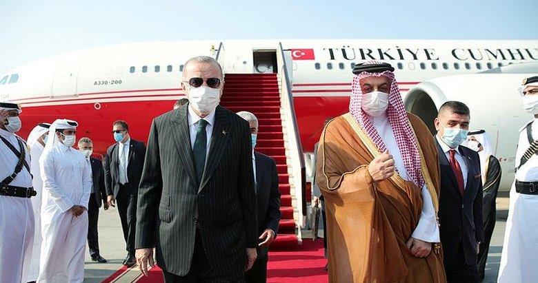 Başkan Erdoğan'dan Körfez çıkarması! Kuveyt'in ardından Katar'a kritik ziyaret