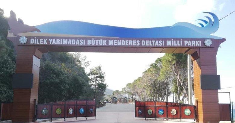 Kuşadası'nda Milli Park yeniden ziyarete kapatıldı