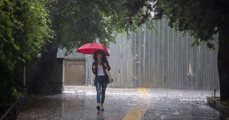 Meteoroloji'den Ege için kuvvetli yağış uyarısı!