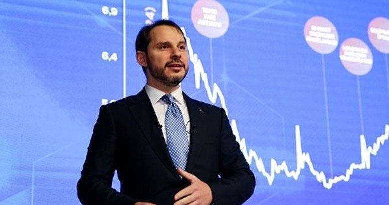 Hazine ve Maliye Bakanı Berat Albayrak'tan Halkbank'a teşekkür mesajı