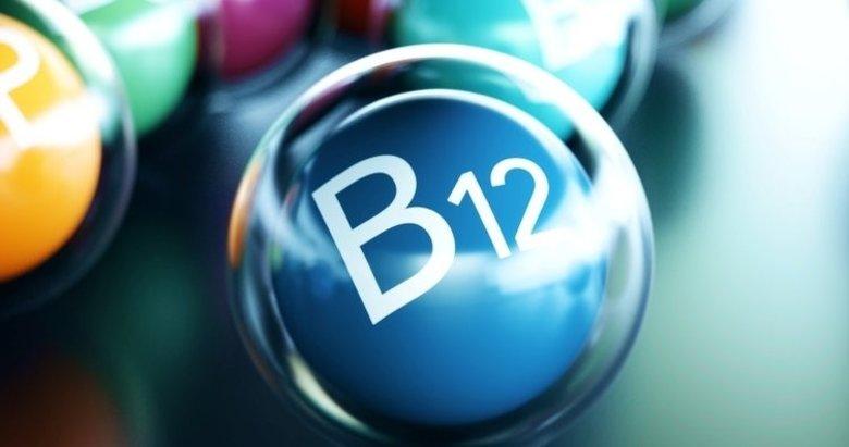B12 vitamini hangi besinlerde bulunur? B12 eksikliği belirtileri nelerdir? B12 faydaları nelerdir?