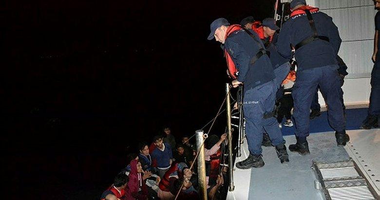 Çanakkale'de 47 kaçak göçmen yakalandı