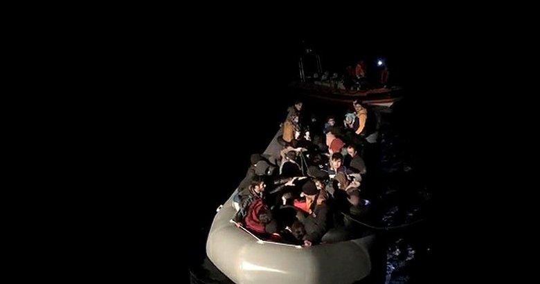 Aydın'da 63 düzensiz göçmen yakalandı