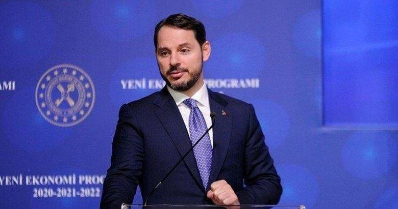 Hazine ve Maliye Bakanı Berat Albayrak'tan Vakıfbank paylaşımı
