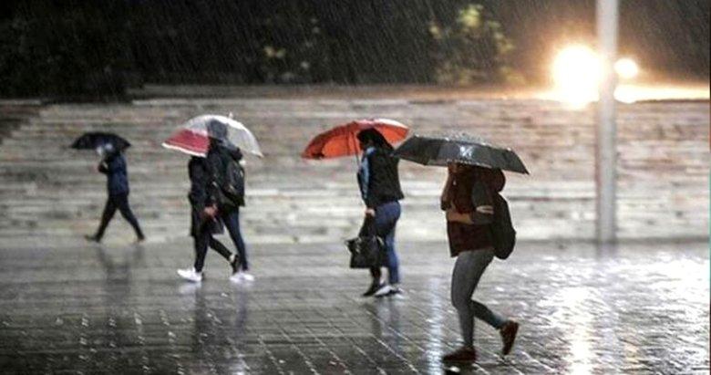 İzmir hava durumu! Meteoroloji'den son dakika yağış uyarısı! İşte 23 Aralık Çarşamba hava durumu..