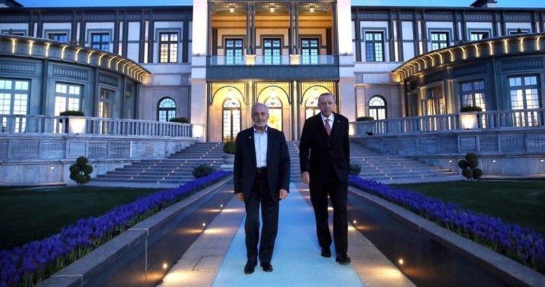 Başkan Erdoğan, Oğuzhan Asiltürk ile iftarda bir araya geldi