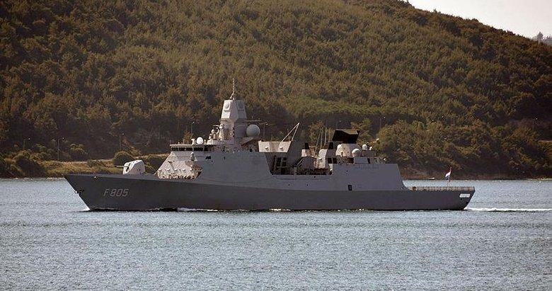 İngiltere ve Hollanda savaş gemileri, Çanakkale Boğazı'ndan peş peşe geçti