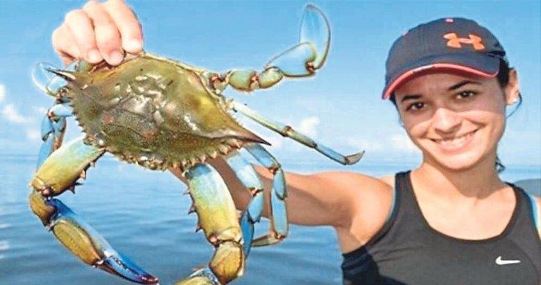 Balıkçıların korkulu rüyası turistlerin gözdesi: Mavi yengeç