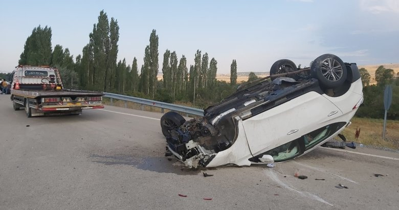 Afyon'da trafik kazası: 2 yaralı