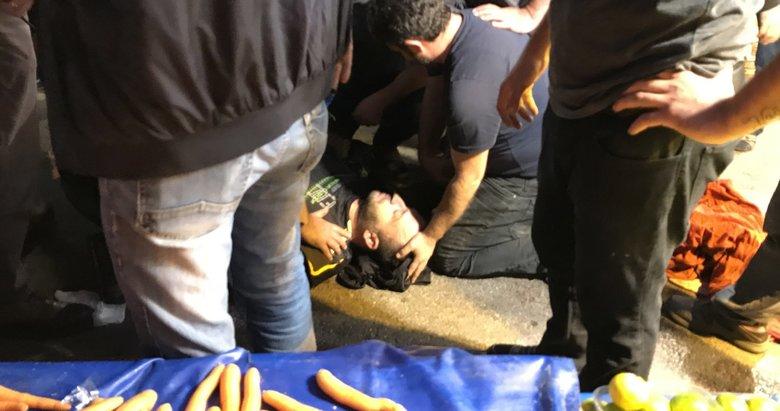 Mandalina için 2 pazarcıyı vuran emekli polisten şok açıklama