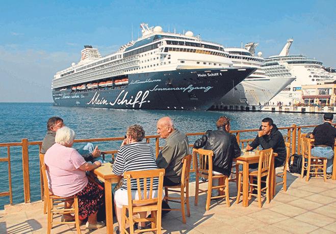 Aydın'a 2017'nin ilk 10 ayı 4 milyon turist geldi