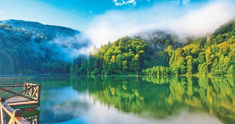 Türkiye'nin hayranlık yaratan gölleri