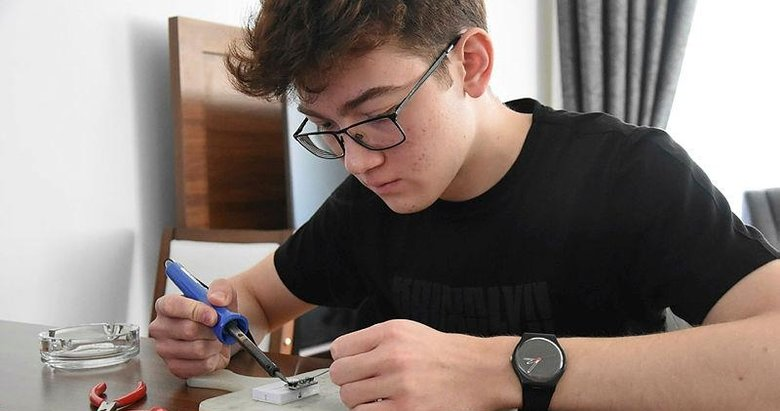 17 yaşındaki lise öğrencisi PCR cihazı üretti, üniversite onay verdi