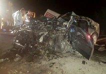 Korkunç kaza 3 kişiye mezar oldu