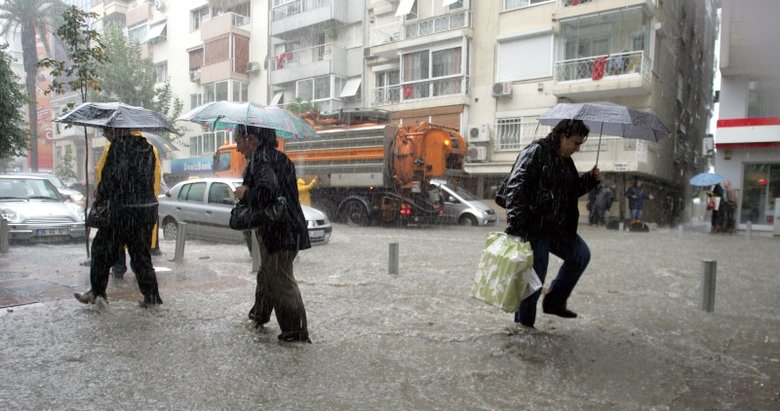 İzmir ve Ege'ye Meteorolojiden uyarı