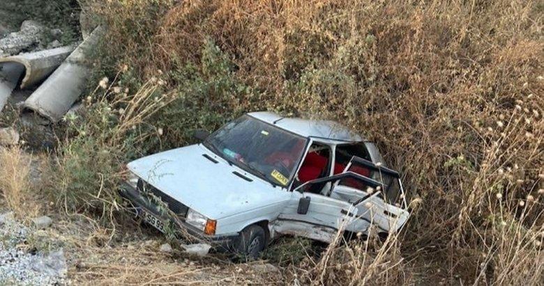Manisa'da düğün dönüşü feci kaza
