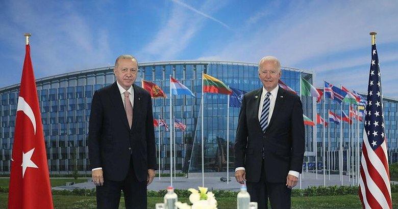 Başkan Erdoğan ve ABD Başkanı Biden görüşecek