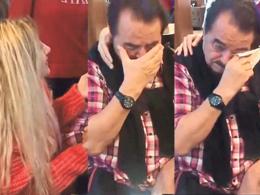Kadın hayranı İbo'yu ağlattı!