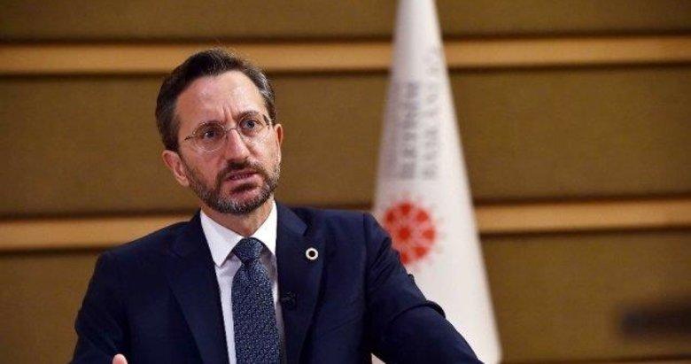 İletişim Başkanı Altun'dan Başkan Erdoğan'a hakaret eden Yunan gazetesi hakkında flaş açıklama