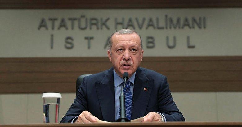 Başkan Erdoğan'dan S-400 açıklaması