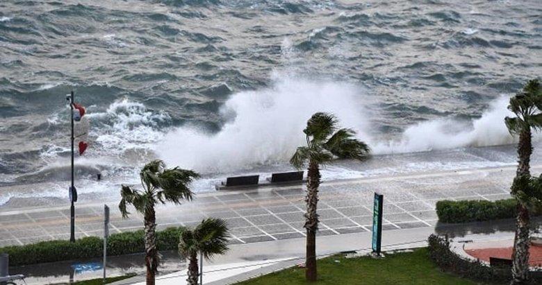 Ege'ye şiddetli rüzgar ve fırtına uyarısı geldi! Hava durumu nasıl olacak? | İzmir ve Ege 9 Nisan Hava Durumu 2021